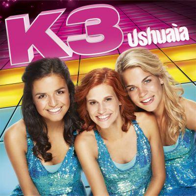 Hier is hij dan, de langverwachte definitieve cover van Ushuaia, het nieuwe album van K3!