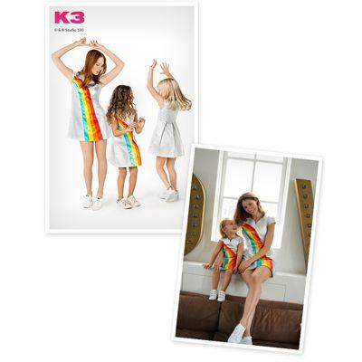Een K3 regenboog T-shirt voor alle kinderen!