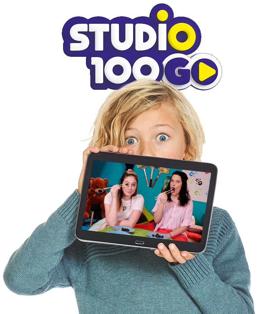 Ontdek alle challenges in de Studio 100 GO app!