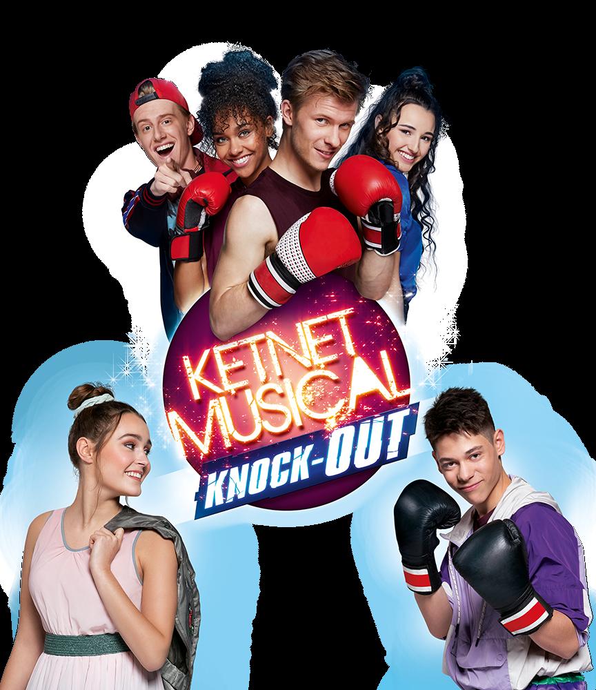 Kom naar de nieuwe Ketnet Musical: Knock-Out met Campus 12!