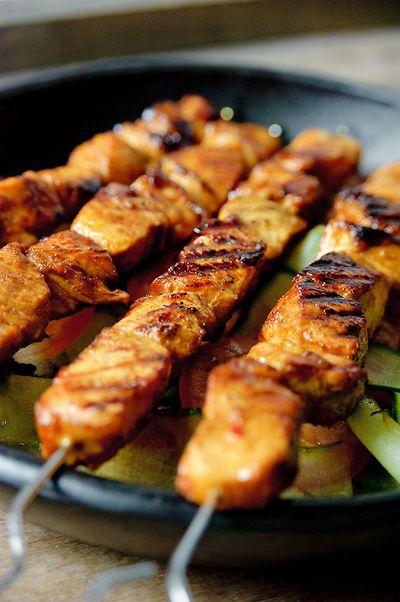 gemarineerde kip in oven