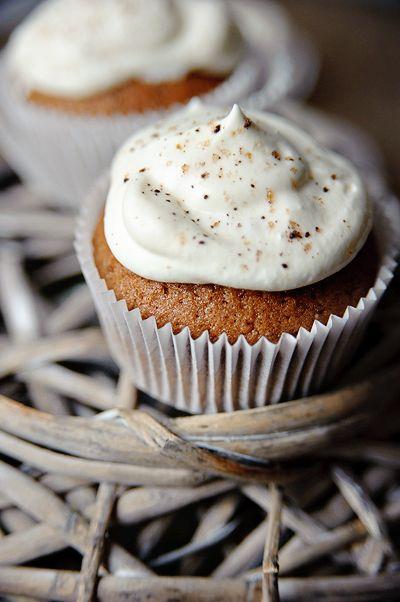 Cupcakes met Irish coffee & slagroom