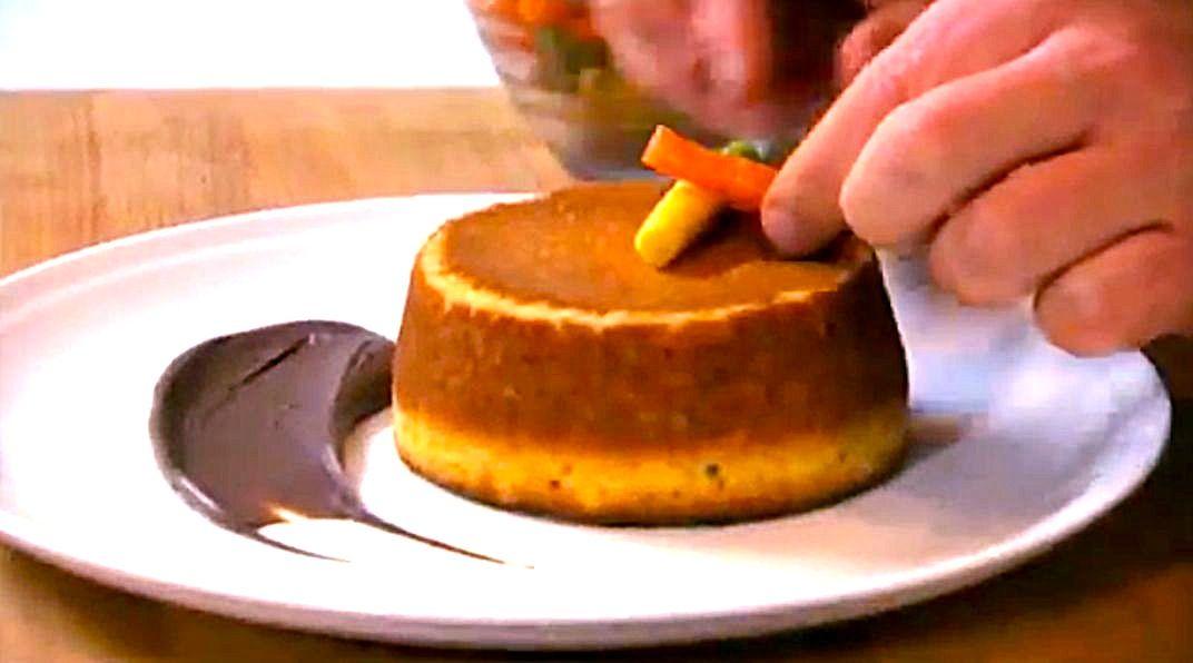 Wortelcake met smeuïge chocoladepasta