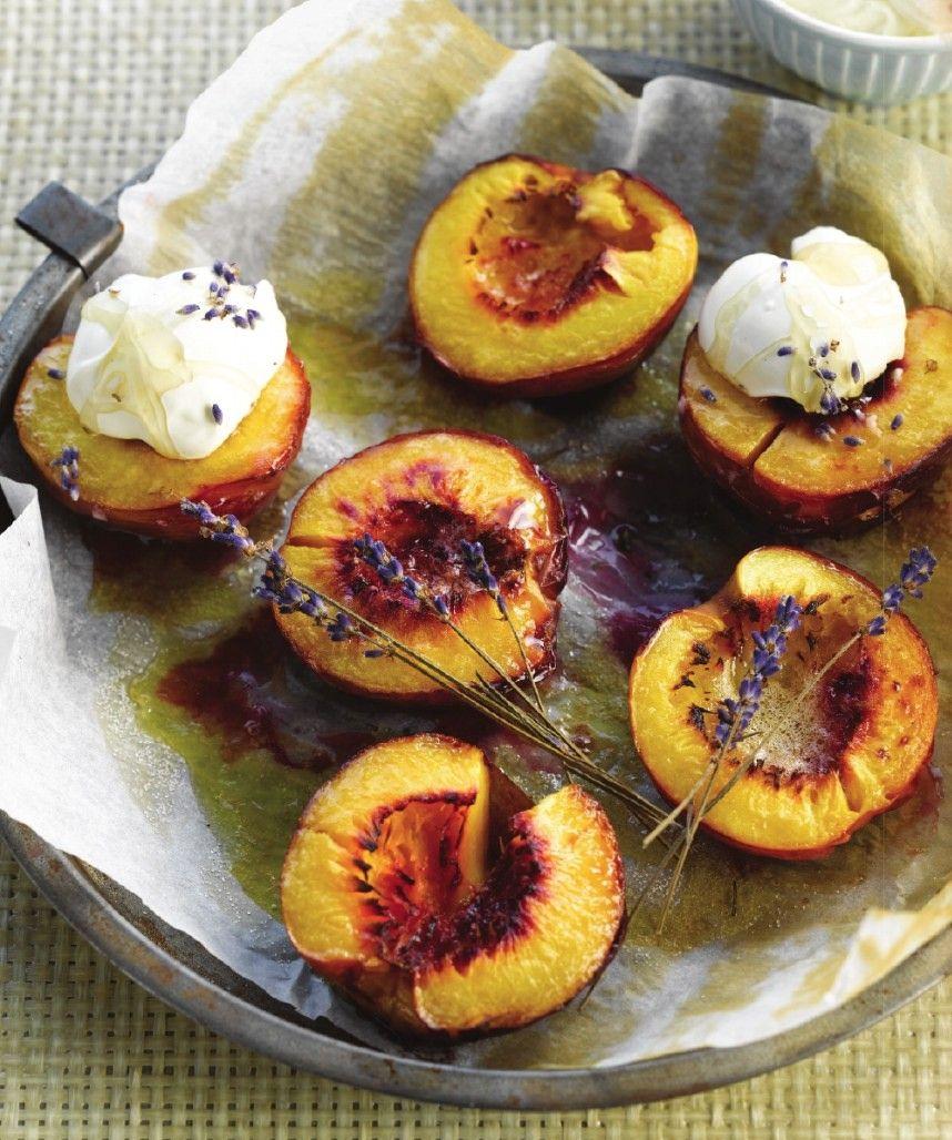 recept fruit op bbq