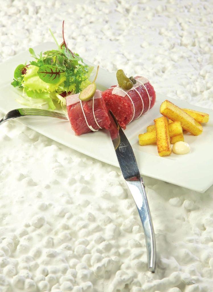 Steak tartaar met filet d'Anvers