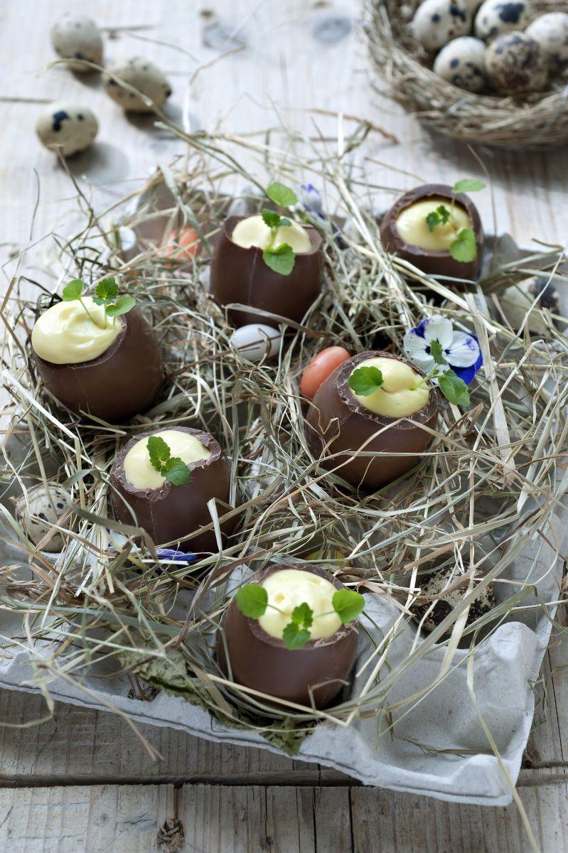 Gevulde chocolade paaseitjes