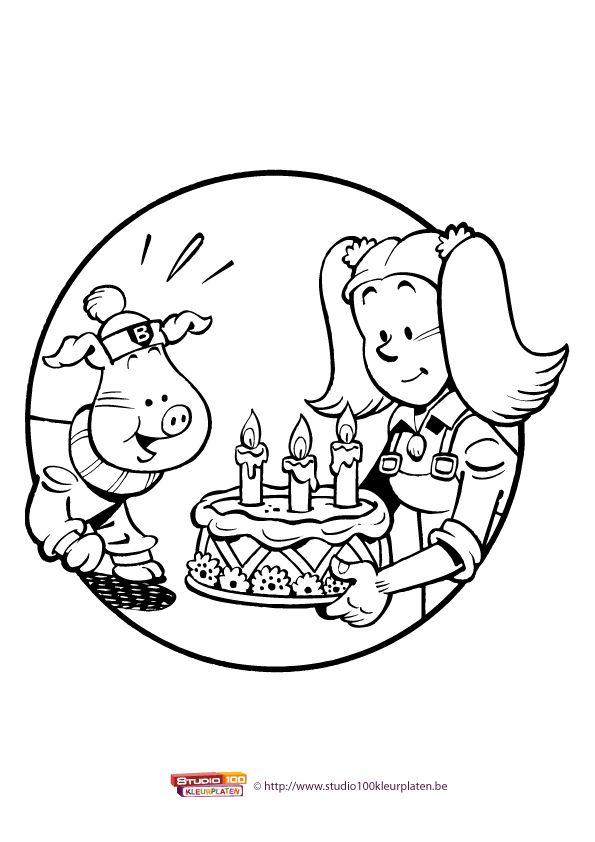 Kleurplaat 10: Big en Betsy