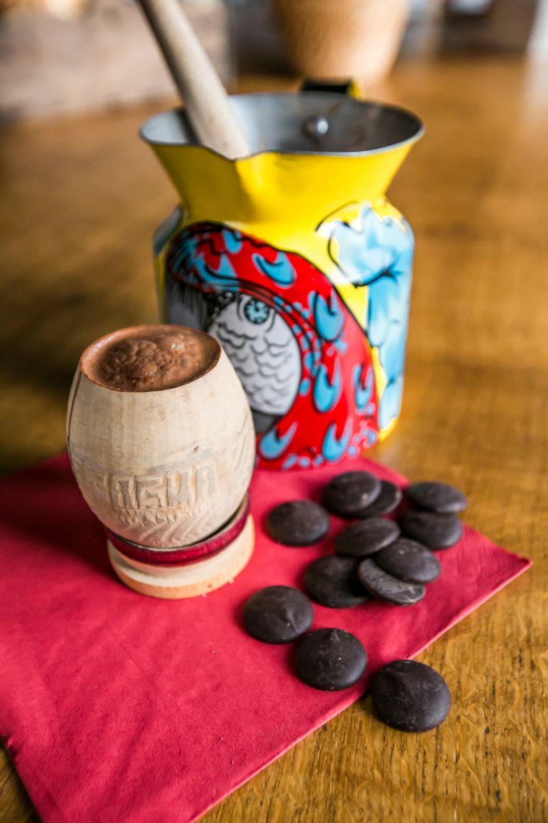 Mexicaanse chocoladedrank