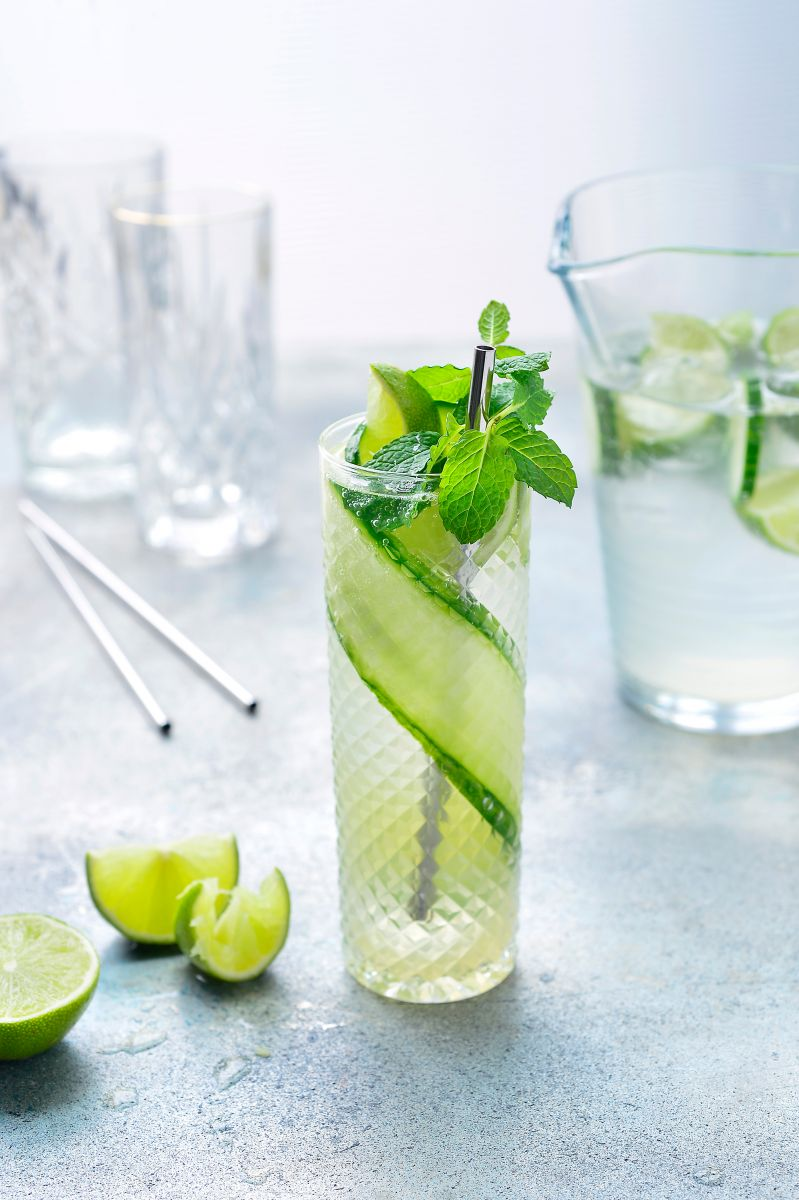 Cucumber Cooler mocktail