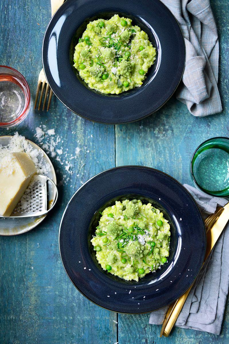 De groenste risotto ter wereld