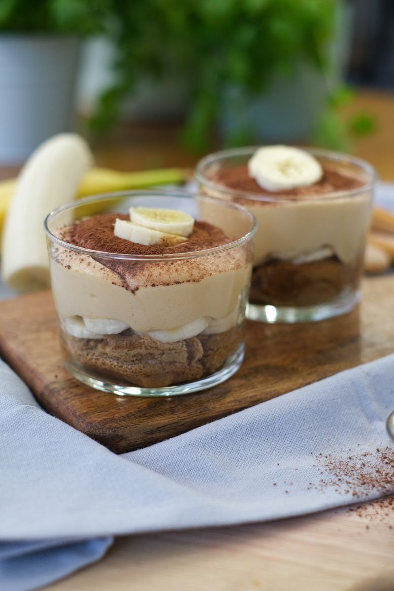 Bananentiramisu met dulce de leche