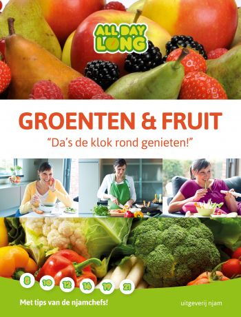 Groenten en fruit, da's de klok rond genieten