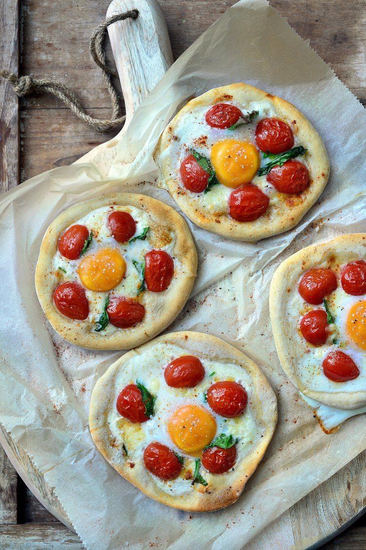 Ontbijtpizza