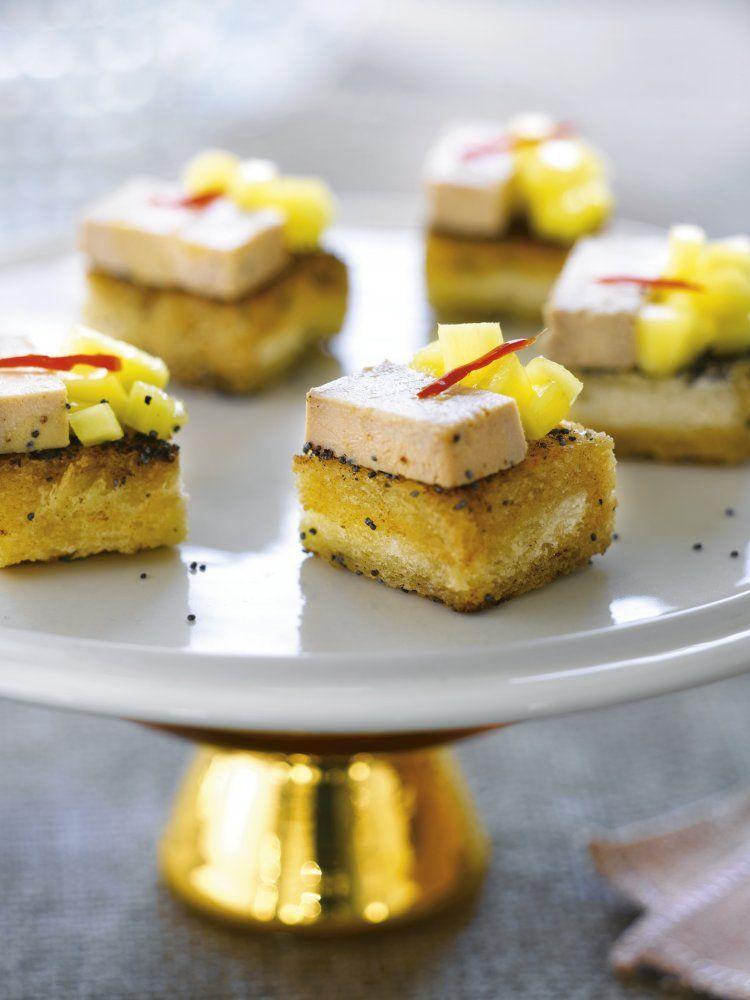 Toastjes met ganzenlever
