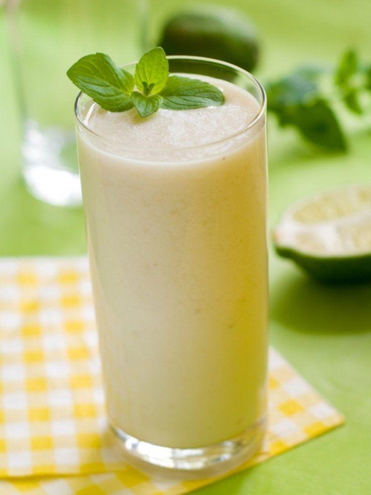 Milkshake van geroosterde bananen