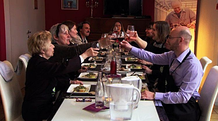 Entrecôte met boulgour en hazelnoot vinaigrette