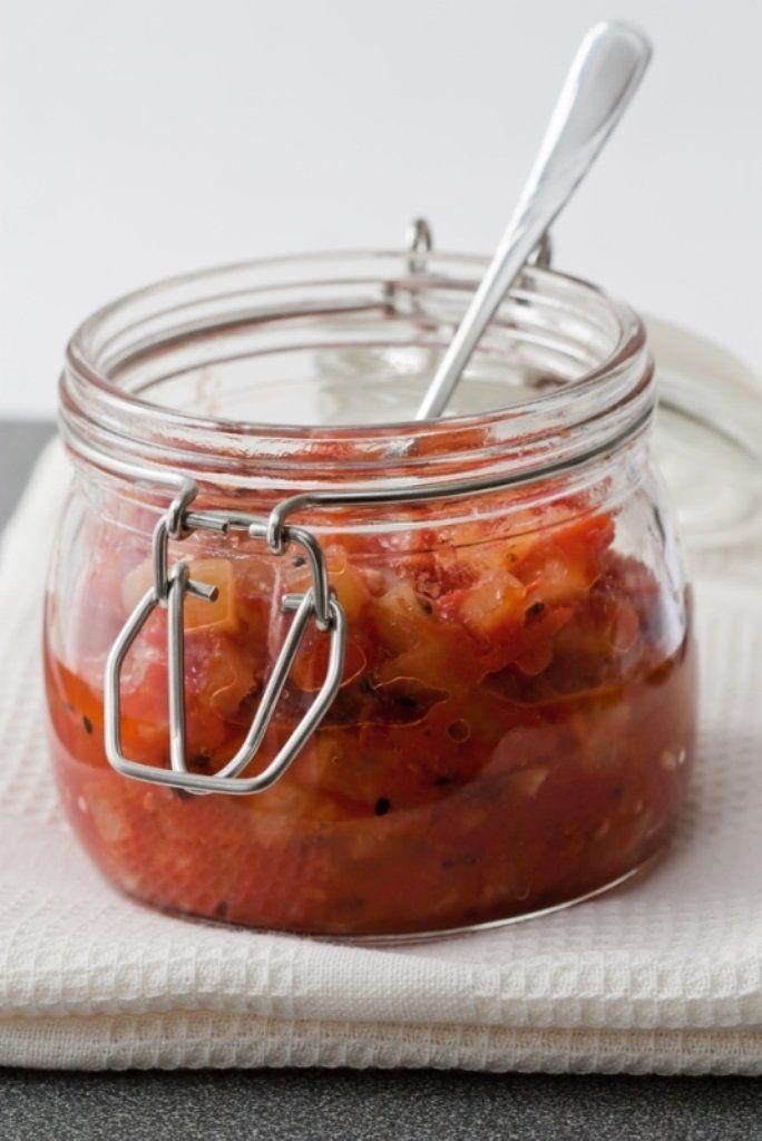 Chutney van tomaat