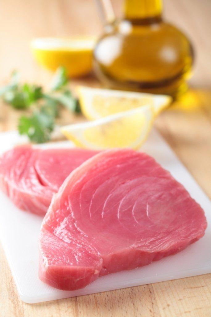 Carpaccio van tonijn