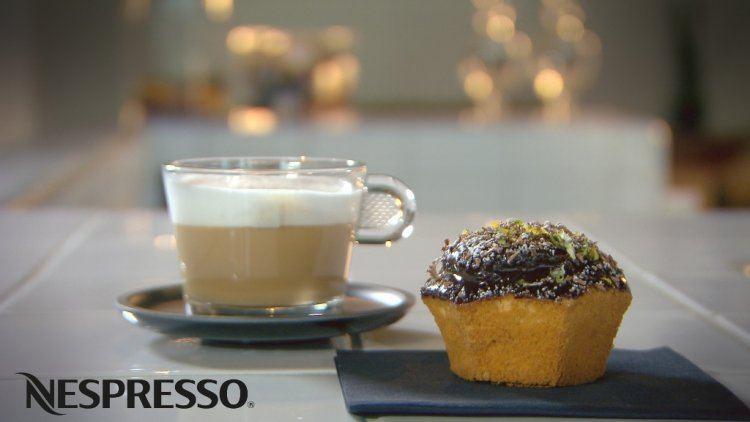 Cupcakes met koffieganache