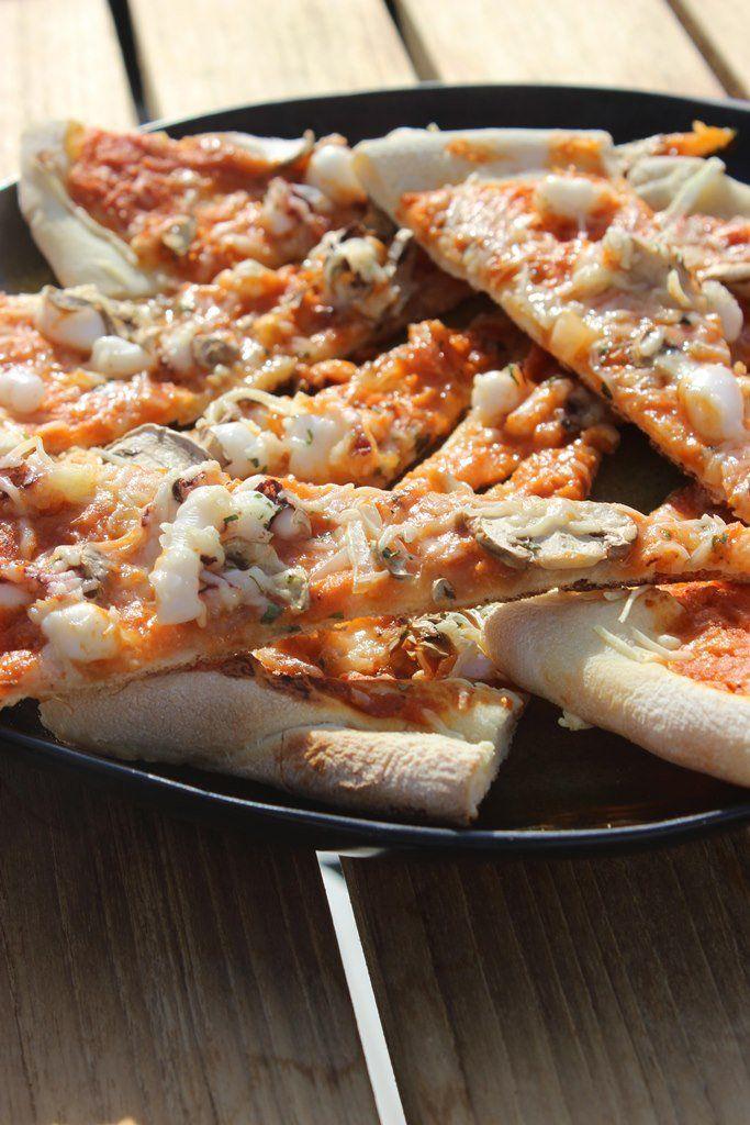 Pizza zeekat