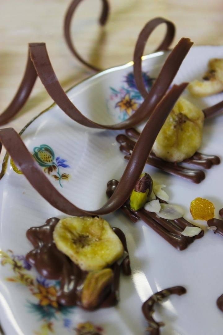 Chocolade decoratie