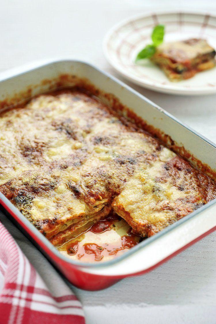 Parmigiana met groenten