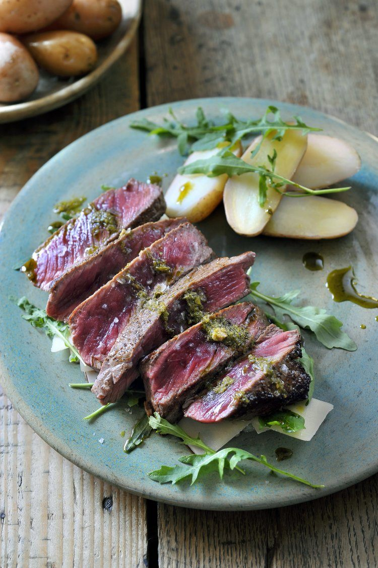 Bistecca Fiorentina met salsa verde