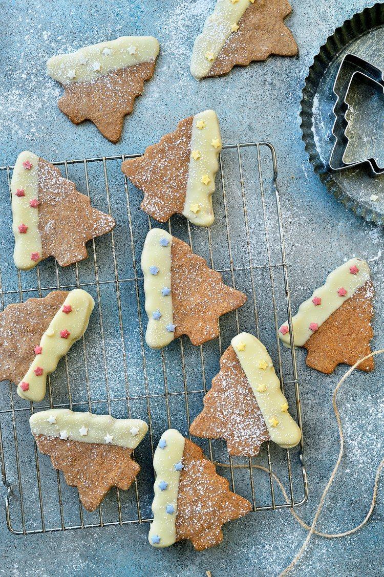 Kerstkoekjes met speculaaskruiden