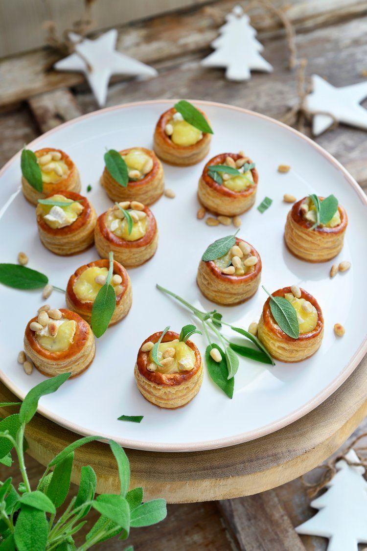 Mini-videetjes met witloof en camembert