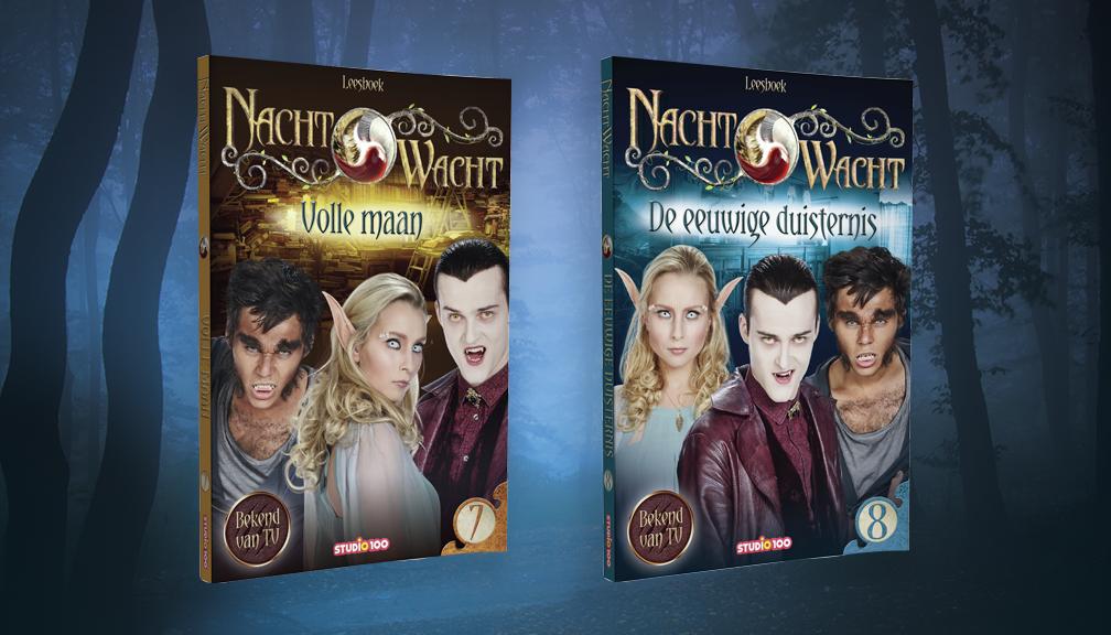 Win de leesboeken van seizoen 4 van Nachtwacht!