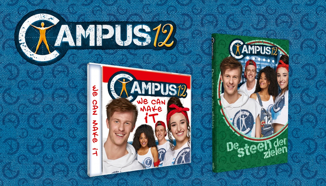 Win de nieuwe cd en een leesboek van Campus 12