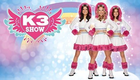 Boek als eerste tickets voor de nieuwe K3 show!