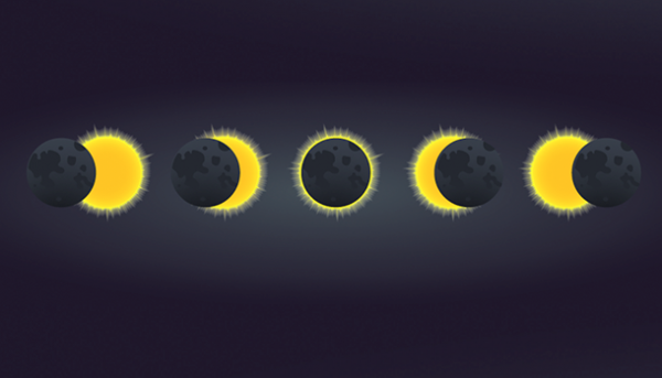 Ontdek alles over de zonsverduistering