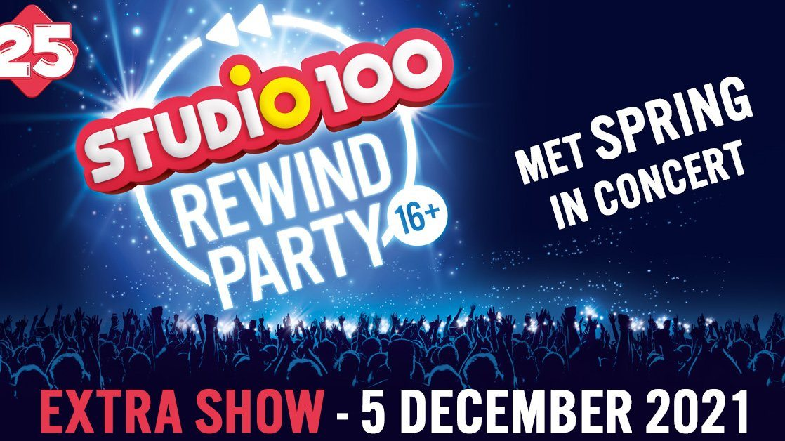 Studio 100 plant extra  Rewind Party in Sportpaleis!