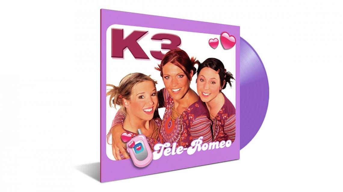 K3 Tele-Romeo nu ook op kleurrijke LP