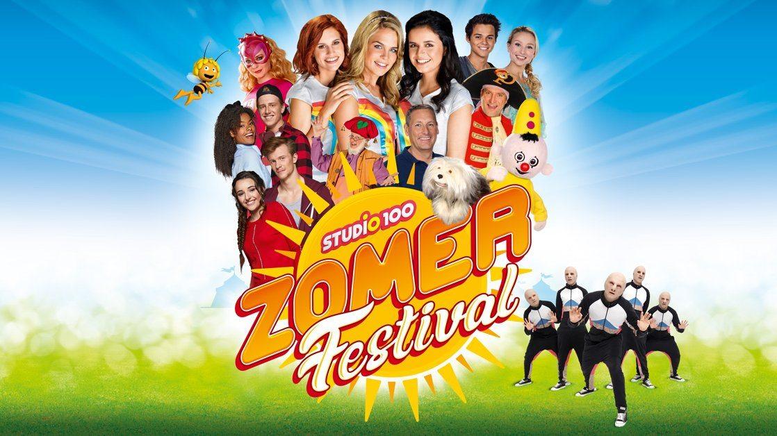 Eerste editie van Studio 100 Zomerfestival op 31/08 in De Schorre in Boom!
